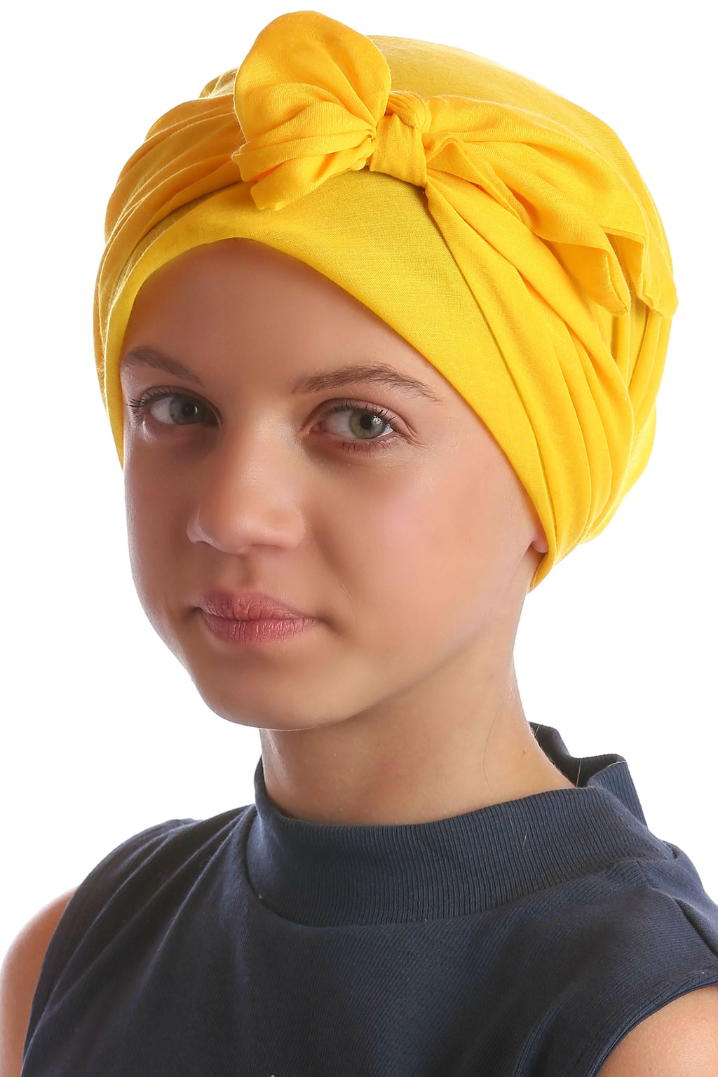 Easy Tie Head Scarf for Girls - Sunglow