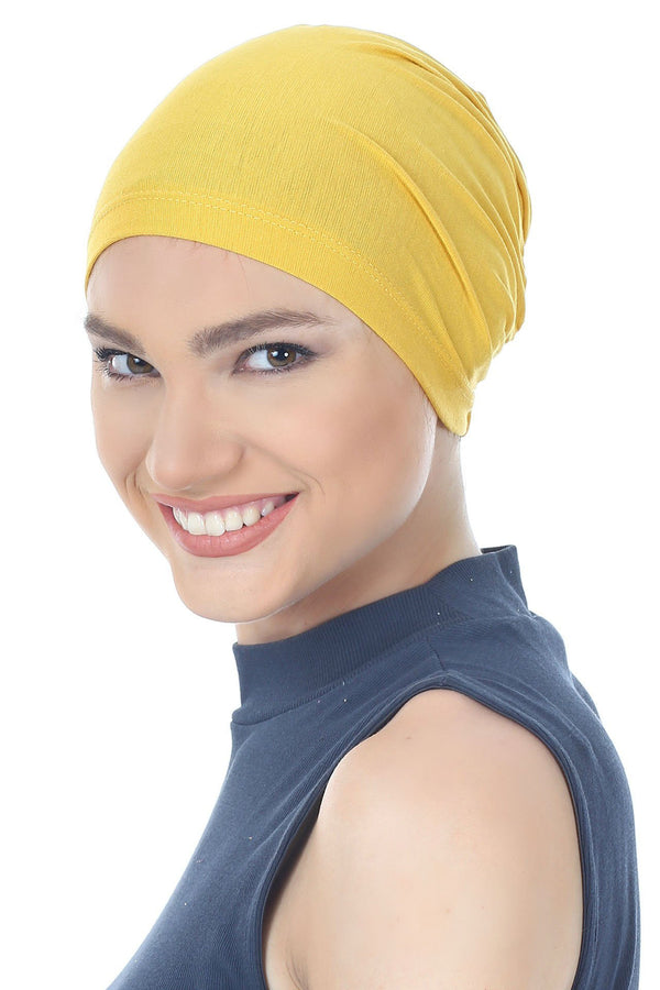 Deresina Essential cotton chemo cap sunglow
