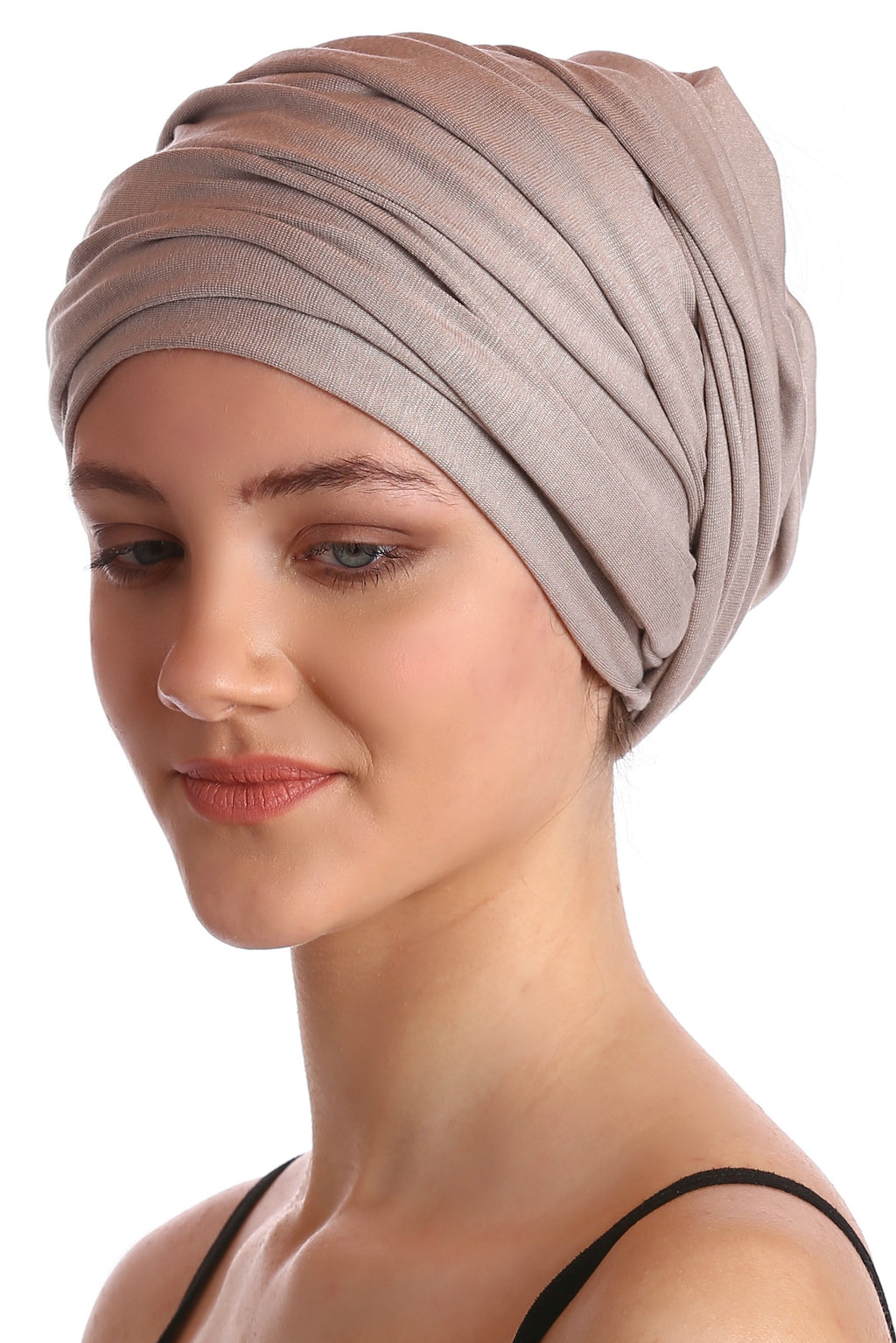 Cotton Headwrap -Taupe