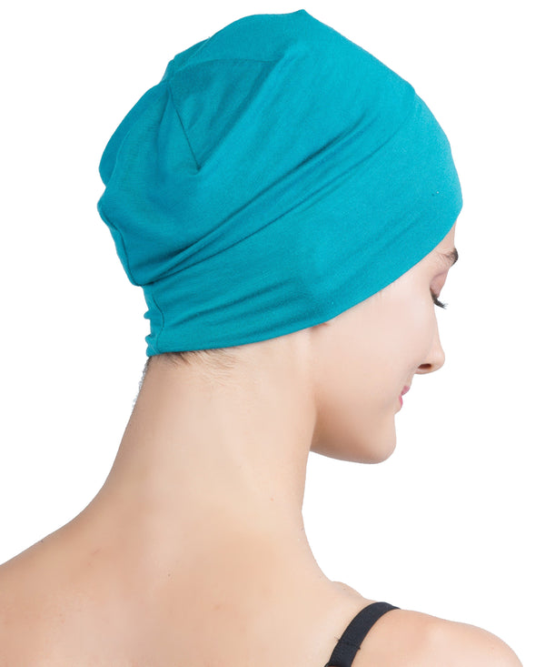 Wrap-fit Sleep Cap - Teal