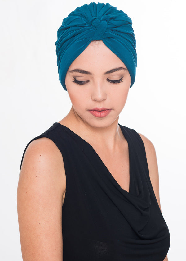 W Turban- Teal (Exclusive)