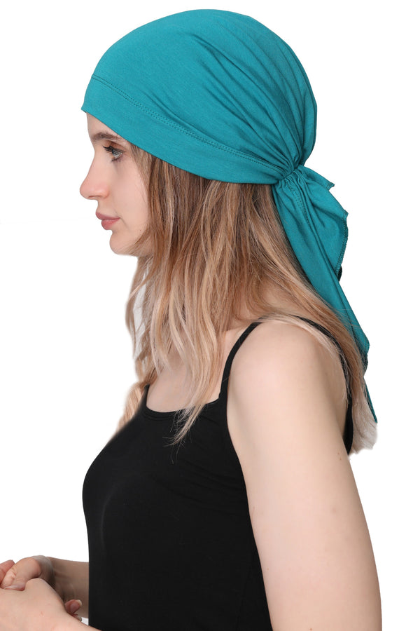 Simple Tie Bandana - Teal