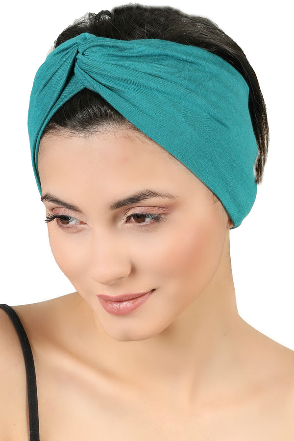 Cross Headband - Teal