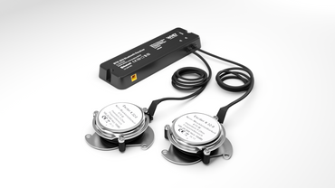 Unsichtbarer Lautsprecher: Exciter-Set BTR 203  - Bluetooth-Receiver mit 2x Exciter