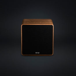 Qube XL - High End Streaming Lautsprecher aus Massivholz