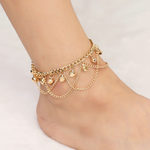 Tassel Chain Bells Anklet - JEWELRY WEARS