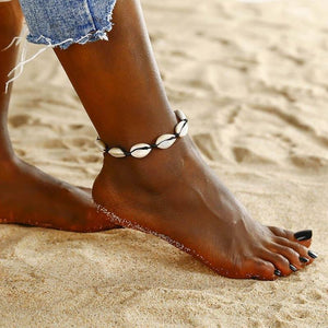 Women shell Anklets for Summer - JEWELRY WEARS