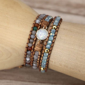 Natural Opal Stone Bracelets - JEWELRY WEARS