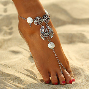 Vintage Coin Anklets - JEWELRY WEARS
