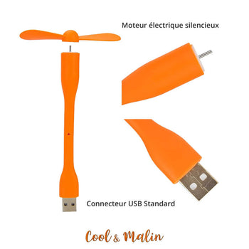 Ventilateur USB pliable