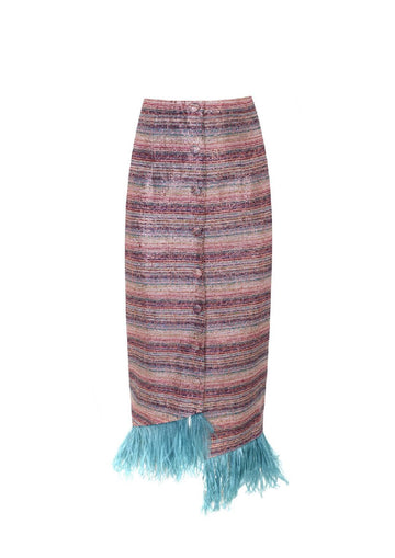 [Pleated Skirt] - Marina Qureshi