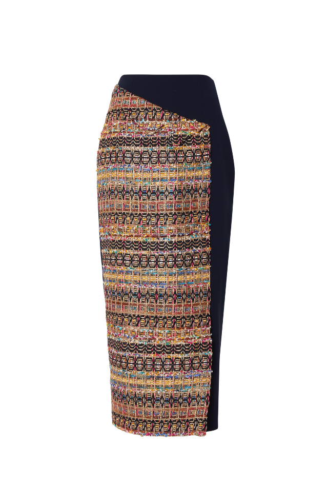 The Mirna Tweed Skirt