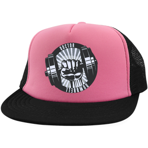 Doctor Dumbbell Trucker Hat with Snapback