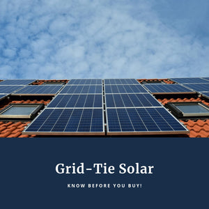 Grid-Tie Solar Installations: Know Before You Buy