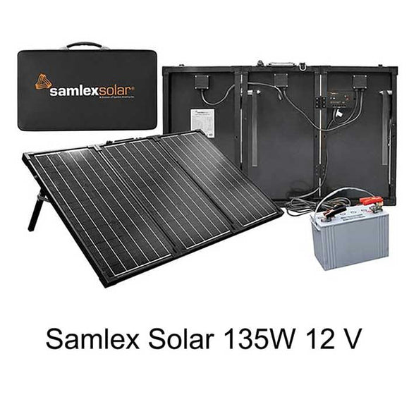 Solarland USA SLP120F-12S 120W 12V Portable Solar Panel Charge Kit