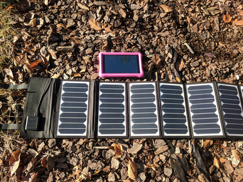 Solar Sporting Goods 60W Sunpower Portable Solar Charger