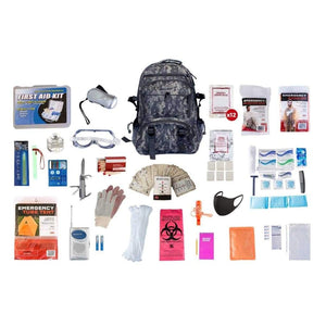 1 Person Elite Survival Kit | Off Grid Survival Gear Emergency Kit-Emergency Tools & Kits-Guardian-SKTK||CAMO Backpack-Solar Sporting Goods