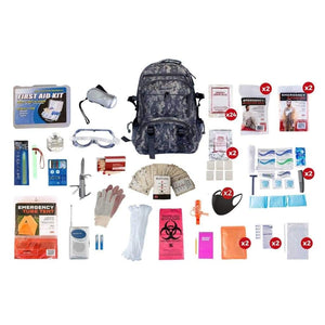 2 Person Elite Survival Kit | Off Grid Survival Gear Emergency Kit-Emergency Tools & Kits-Guardian-CAMO Backpack-Solar Sporting Goods