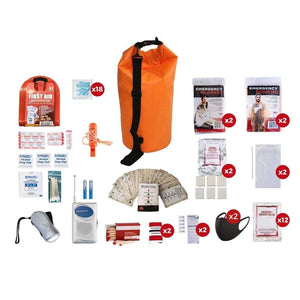 2 Person Survival Kit | Off Grid Survival Gear Emergency Kit