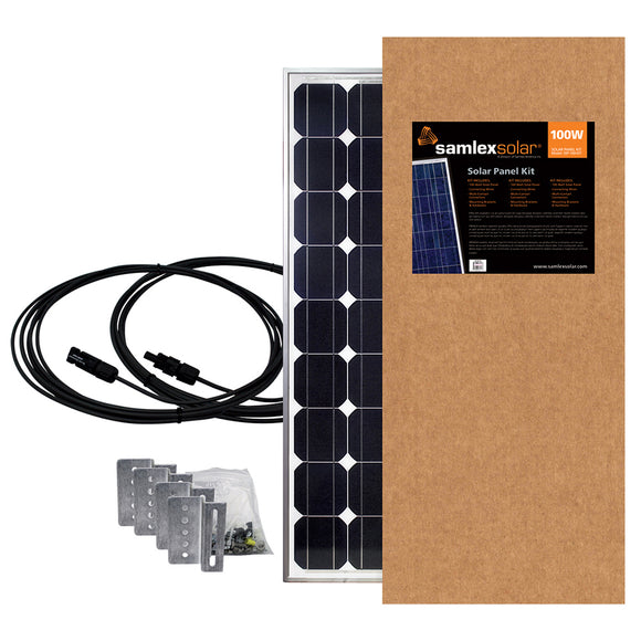 Samlex 100W Solar Panel Kit | Off Grid Survival-Solar Panels-Samlex America-Solar Sporting Goods