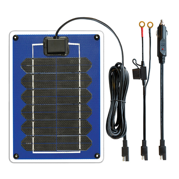 Samlex 5W Battery Maintainer Portable SunCharger [SC-05]-Solar Panels-Samlex America-Solar Sporting Goods