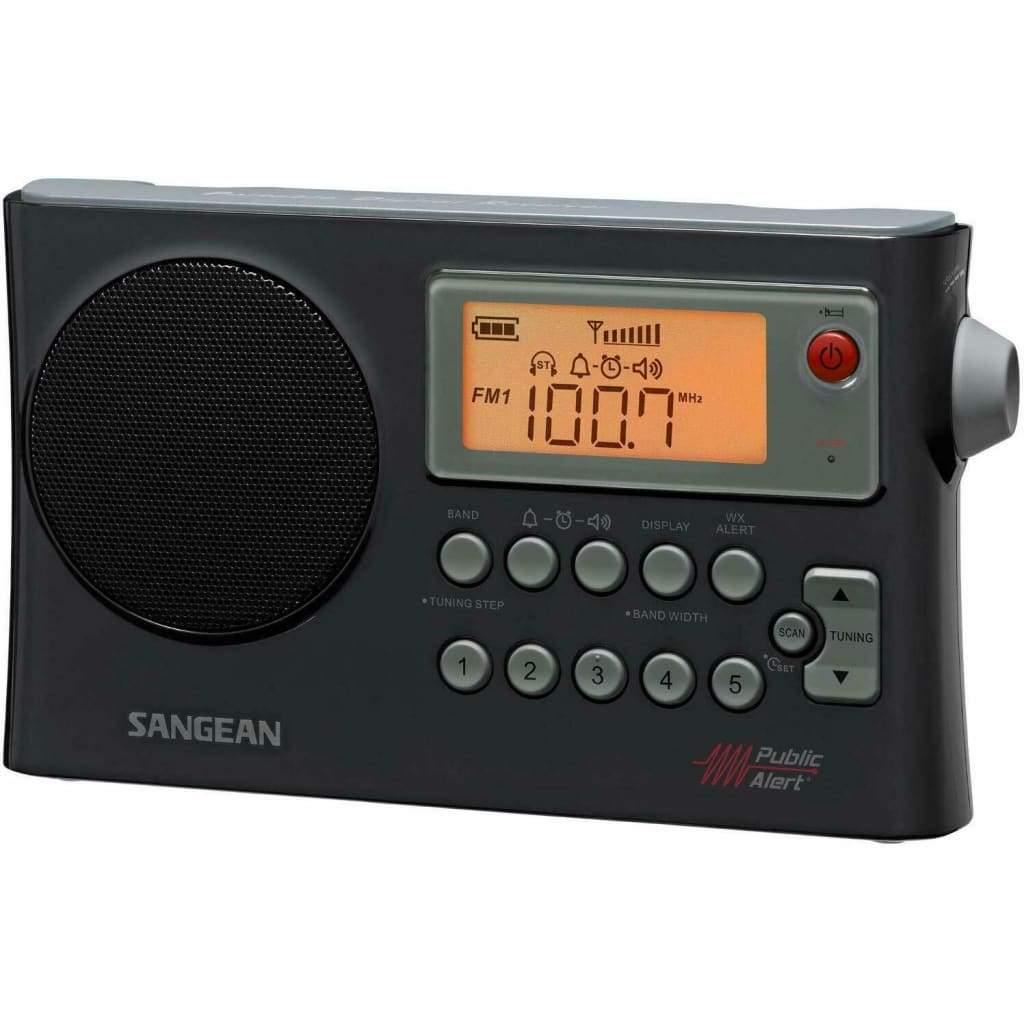 AM FM NOAA Weather Alert Portable Radio by Sangean - Radios