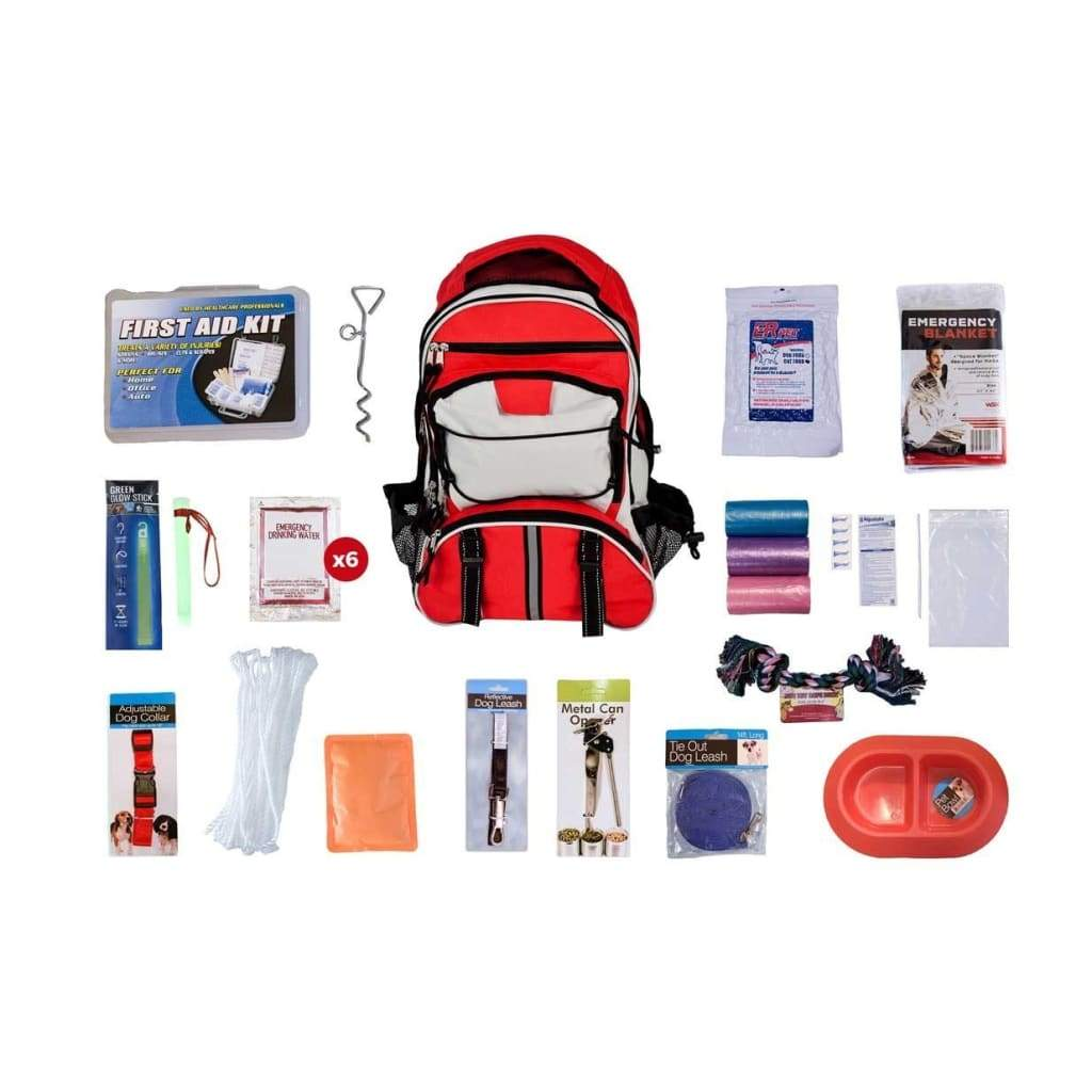 Deluxe Dog Survival Kit | Off Grid Survival Gear Emergency Kit-Emergency Tools & Kits-Guardian-Solar Sporting Goods
