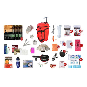 Deluxe 14 Day Food Storage Survival Kit | Off Grid Survival Gear Emergency Kit-Emergency Food Kits-Guardian-FSDK-Solar Sporting Goods