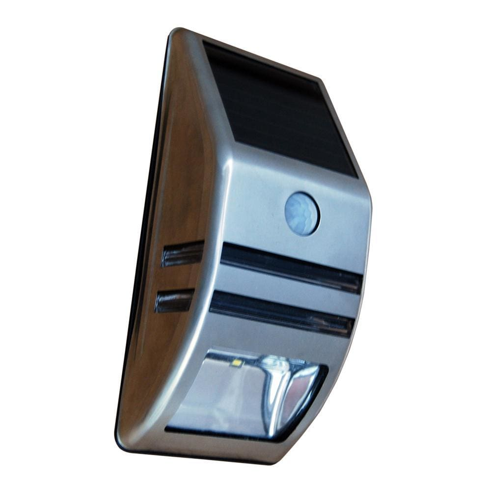 Dock Edge Post & Surface Mount Off Grid Solar Light w-Motion Sensor-Docking Accessories-Dock Edge-Solar Sporting Goods