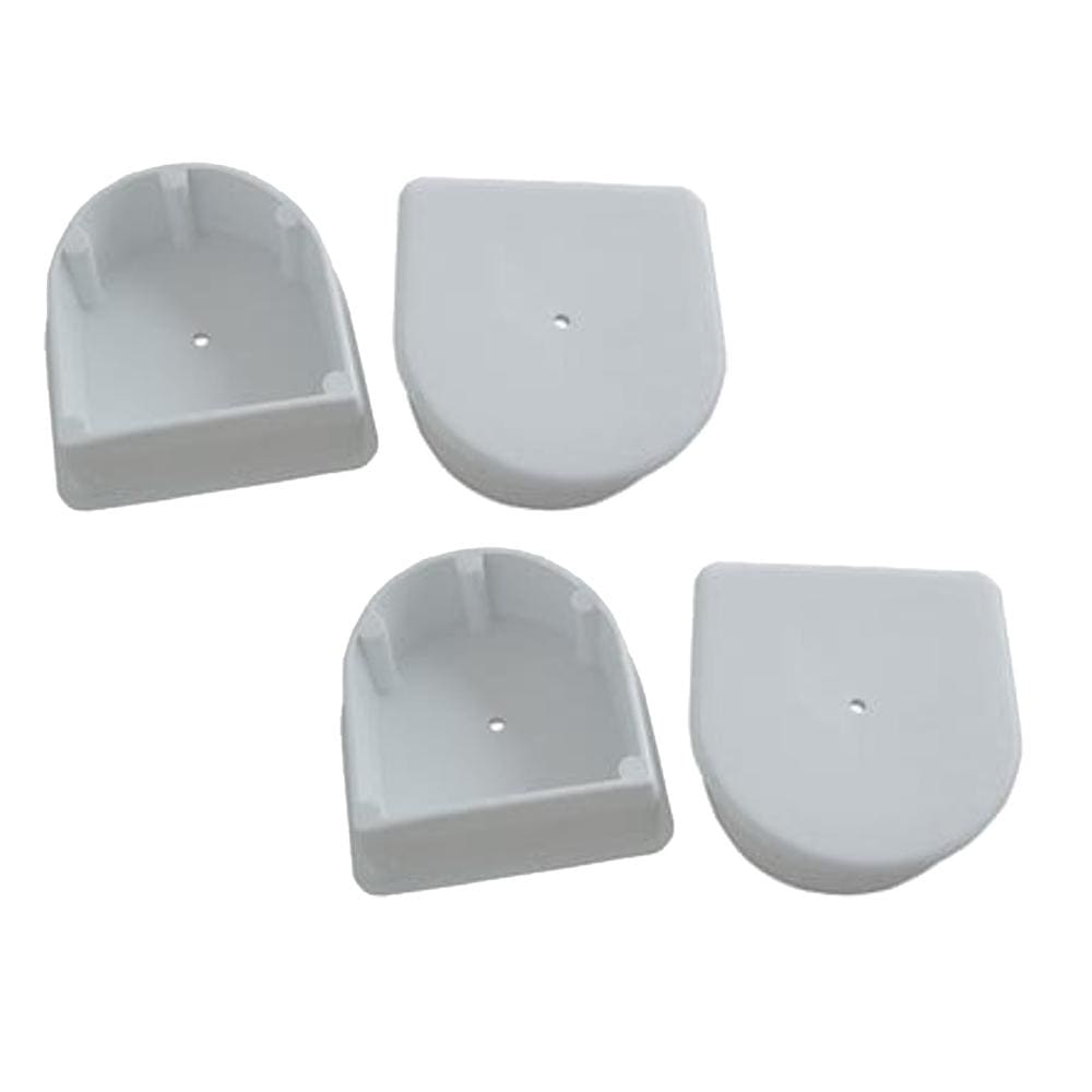 Dock Edge Small End Plug - White *4-Pack [DE1027F] - Docking