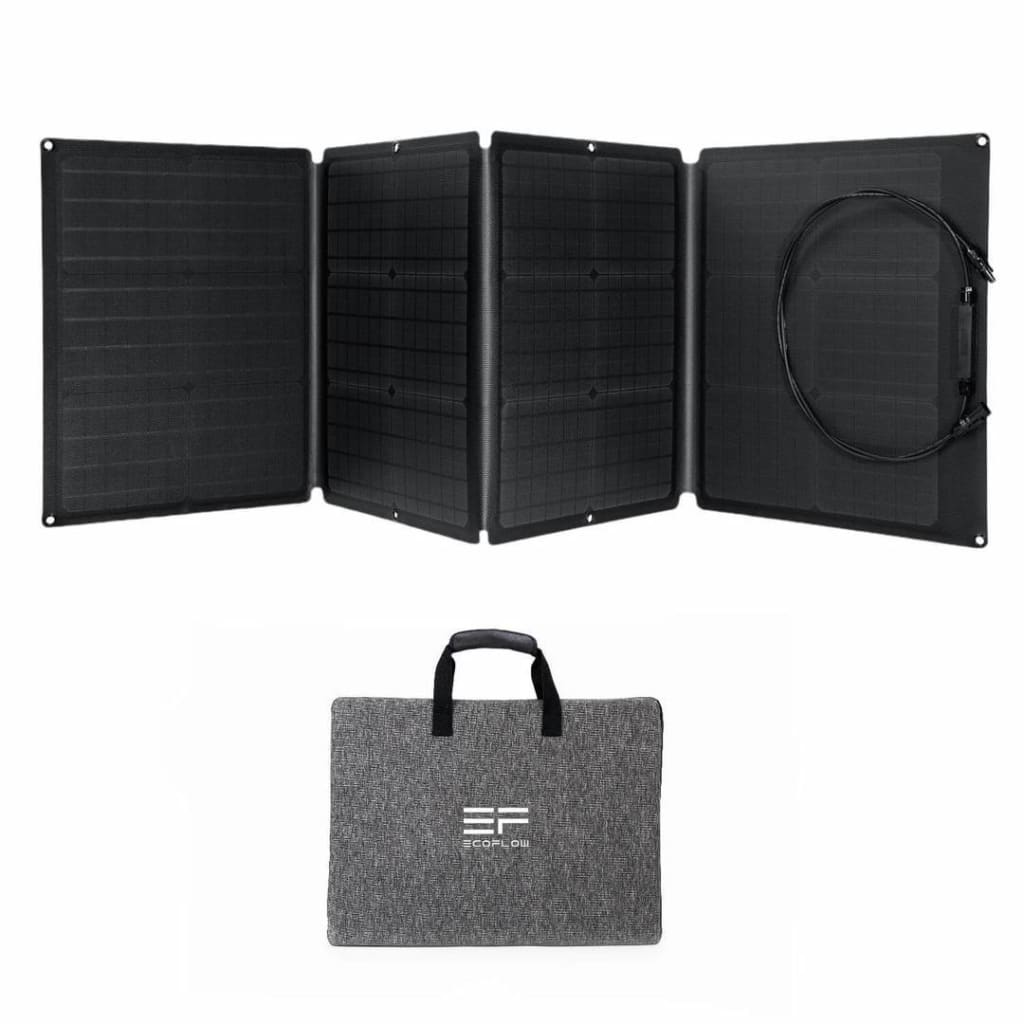ECOFLOW 110W Foldable Portable Solar Panel Charger - Solar