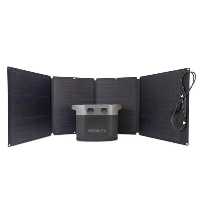 ECOFLOW DELTA 1300 110W Foldable Portable Solar Panel Bundle