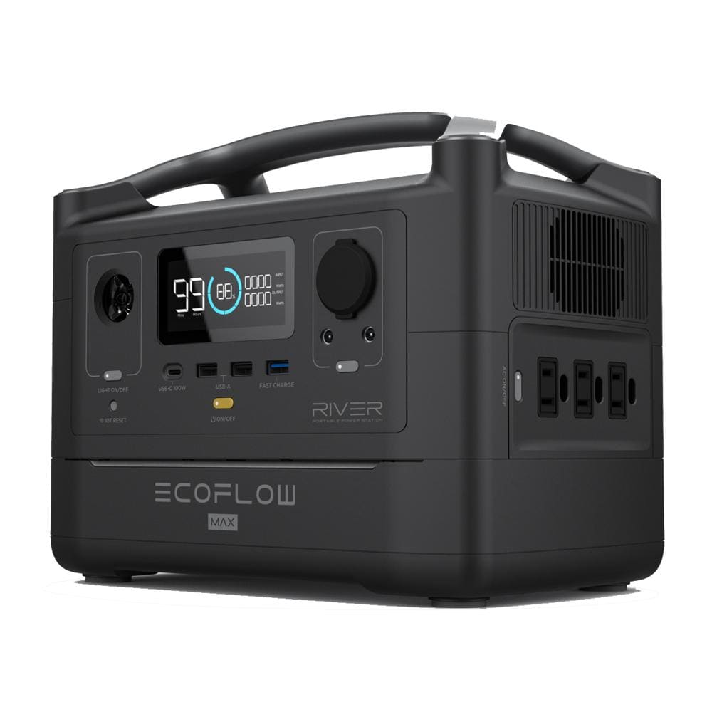 EcoFlow RIVER Max 600 Watts 576Wh Portable Power Station -
