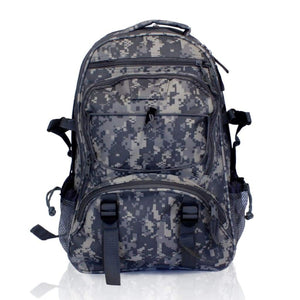 Elite Multi-Pocket Hikers Backpack - CAMO - Accessories