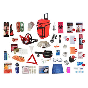 Family Road Kit | Off Grid Survival Gear Emergency Kit-Emergency Tools & Kits-Guardian-SKRG-Solar Sporting Goods
