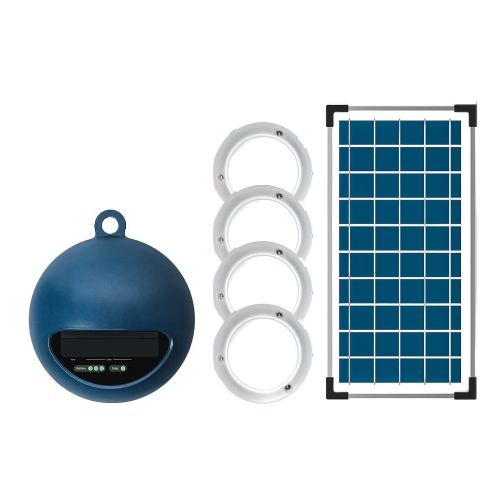 GoSun Solar Cabin Lights | 8 Watts 4 Solar Lanterns with 600