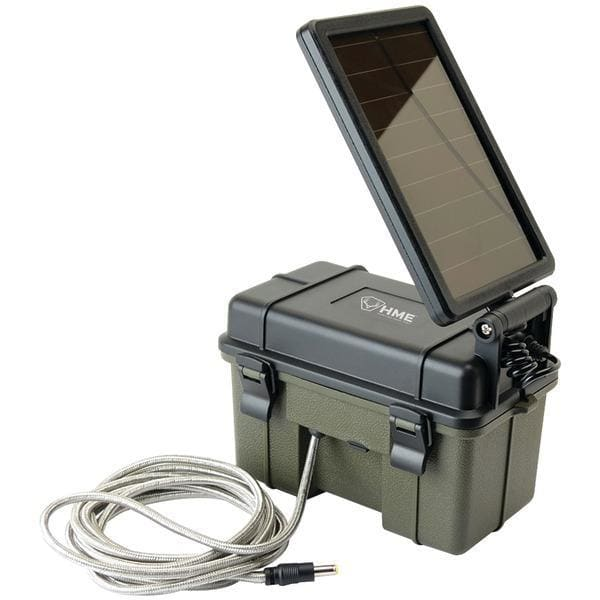 HME Products Off Grid Trail Camera 12v Solar Power Aux Power Pack-Batteries-HME Products-Solar Sporting Goods