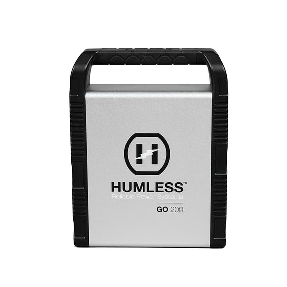 HUMLESS GO 200 Portable Solar Power Station - Battery
