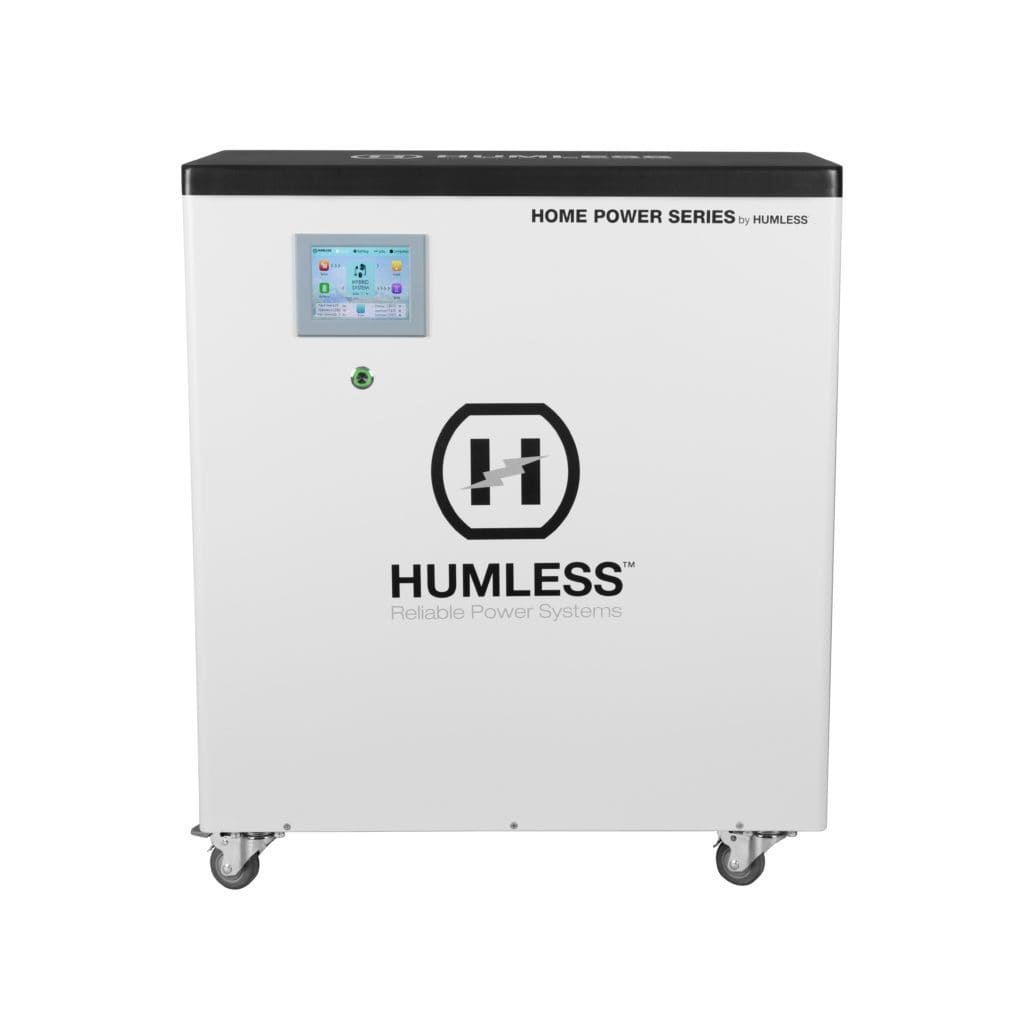 Humless HOME 6.5 Portable Solar Power Station | Off Grid Survival-Battery-Humless-Solar Sporting Goods