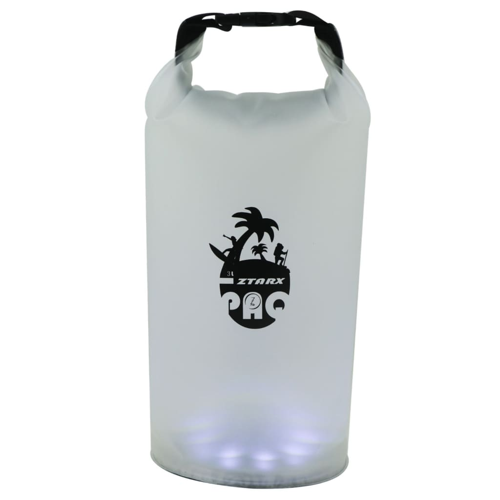 LED PAQ Solar Powered Camping Lantern & Transparent Storage Dry Bag 3L-Solar Lighting-Solar Sporting Goods
