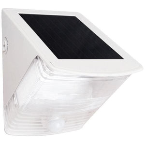 MAXSA Innovations Off Grid 2 LED Solar Light Wedge for Decks, Patios-Landscape Pathway Lighting-MAXSA Innovations-White-Solar Sporting Goods