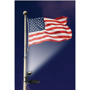 MAXSA Innovations Off Grid LED Solar Power Light for Flags-Flood & Spot Lights-MAXSA Innovations-Solar Sporting Goods