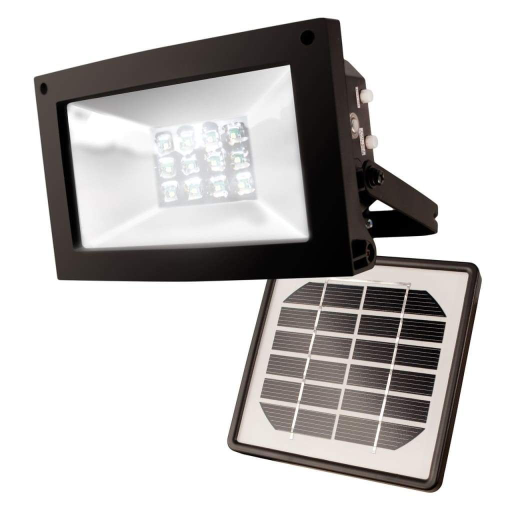 MAXSA Innovations Off Grid 12 LED Solar Power Floodlight-Flood & Spot Lights-MAXSA Innovations-Solar Sporting Goods
