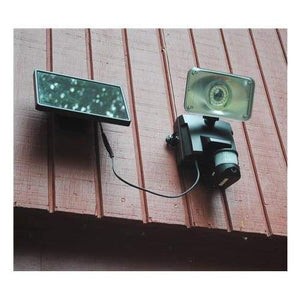 MAXSA Innovations Off Grid 16 LED Solar Power Video Camera & Light-Surveillance Cameras-MAXSA Innovations-Solar Sporting Goods