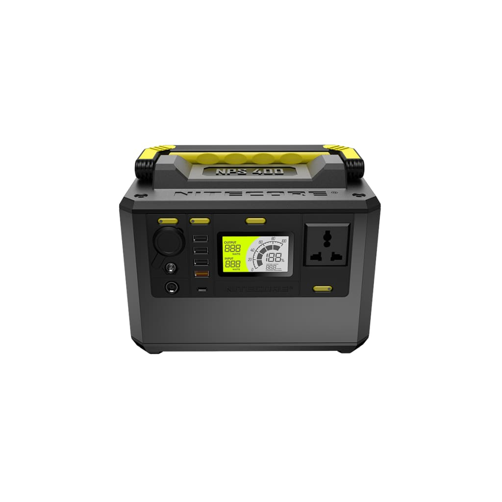 Nitecore NPS400 39AH 421WH Portable Solar Power Station