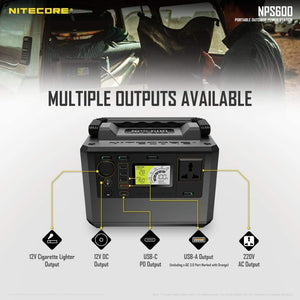 Nitecore NPS600 55AH 594WH Portable Power Station FSP100