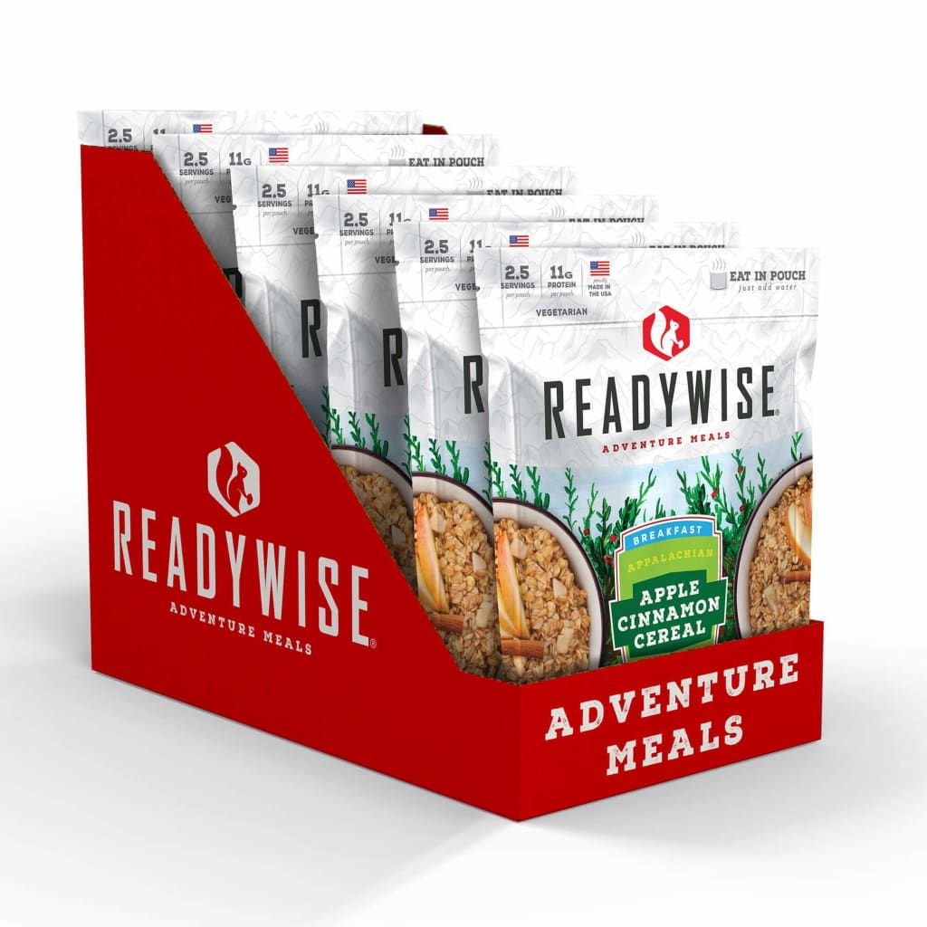 ReadyWise Appalachian Apple Cinnamon Cereal Meals Read to
