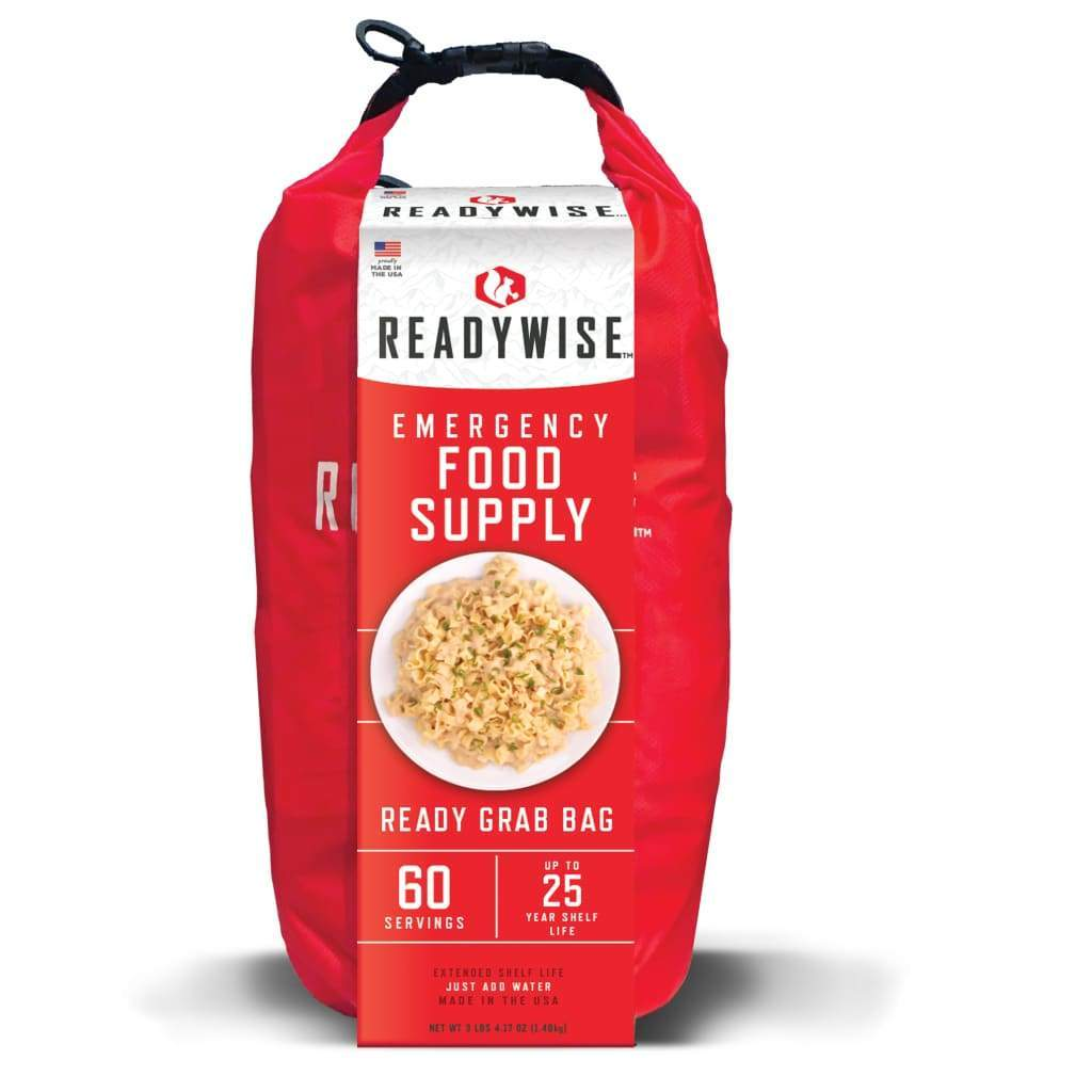 7 Day Emergency Dry Bag 60 Servings Breakfast and Entrée MRE Kit-Emergency Food Kits-Solar Sporting Goods