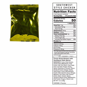 Emergency Freeze Dried Meat - 60 Servings | MRE Kit | Wise