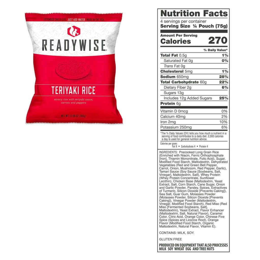Gluten Free Emergency Freeze Dried Entree 84 Servings | MRE Kit | Wise Foods-Emergency Food Kits-Solar Sporting Goods